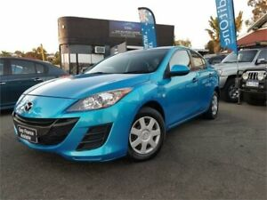 2011 Mazda 3 BL 10 Upgrade Neo Blue 5 Speed Automatic Sedan Osborne Park Stirling Area Preview