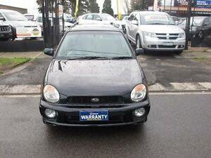 2001 Subaru Impreza MY01 RX (AWD) Black 4 Speed Automatic Hatchback Brooklyn Brimbank Area Preview