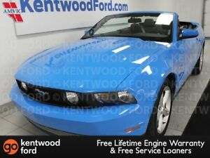 2012 Ford Mustang GT 5.0L in baby blue