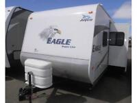 PRE-OWNED 2010 EAGLE 304 BHK TRAVEL TRAILER