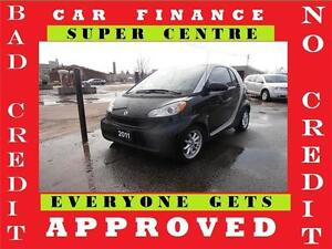 2011 Smart fortwo Pure Auto Air Roof Finance available Gas saver
