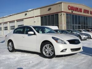2013 Infiniti G37 AWD, NAV, ROOF, HTD. LEATHER, LOADED!
