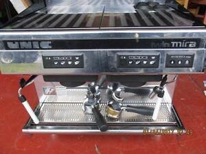 Unic Twin Mira Espresso Machine- - c/w  espresso grinder