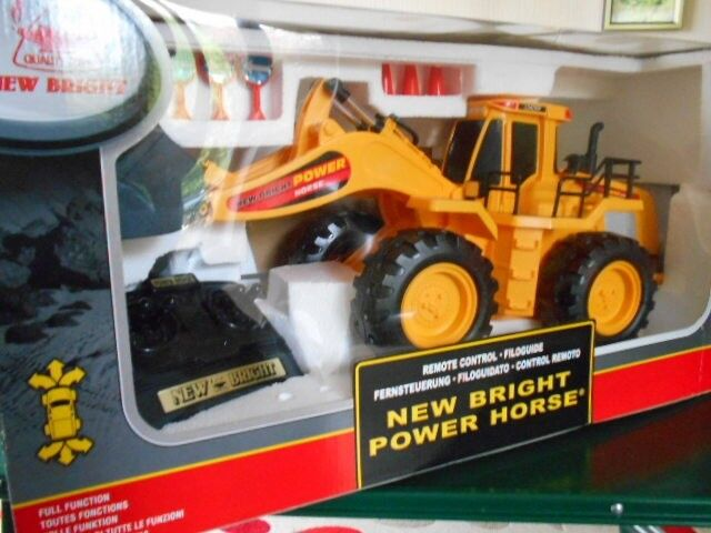 new bright power horse remote control loader in coventry west