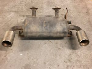 2008 INFINITI G37S COUPE EXHAUST SYSTEM MUFFLER