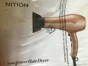 NITION Ceramic Hair Dryer Negative Ion