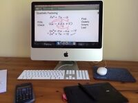 Online Maths Tuition for GCSE, AS and A Level at £16 for one hour