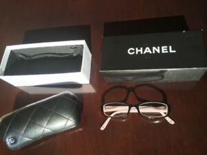 AUTHENTIC WOMEN CHANEL EYEGLASSES, BOX AND CASE