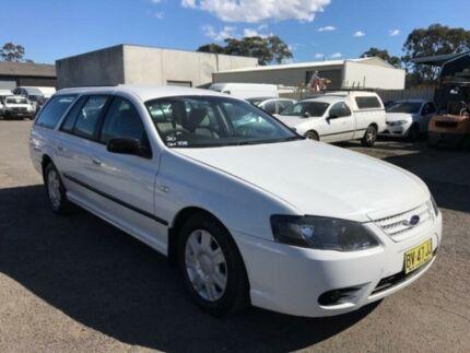 2009 Ford Falcon BF Mkiii XT (LPG) White 4 Speed Auto Seq Sportshift Wagon Revesby Bankstown Area Preview