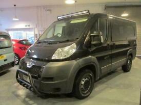 Peugeot Boxer campervan, camper, 3 berth, 4 seats