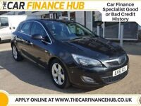 BAD CREDIT, NEED A CAR ?....PAY AS YOU GO FINANCE....VAUXHALL ASTRA SRI.....representative APR 14.5%