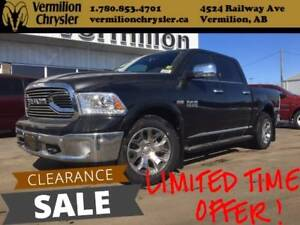 2017 Ram 1500 Limited, Sunroof, Painted Boards, NAV