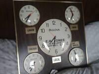 Bulova accutron wall clock