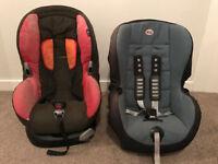 Maxicosi car seat 9-18 KG & Britax Duo Car seat 9-18kg (£5 each)