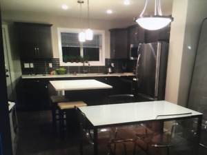 Furnished Townhouse Condo Rooms in West Lethbridge