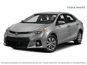 2016 Toyota Corolla S Package w/Manual Transmission!