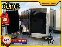 REMORQUE FERMÉ FERMER V-NOSE ENCLOSED TRAILER CARG