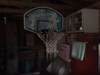 Basketball hoop and stand 7ft