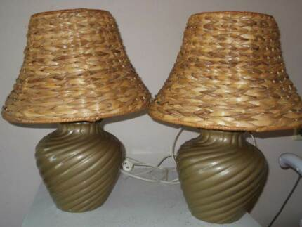 Marble table lamps pair table desk lamps gumtree australia pair of table lamps aloadofball Choice Image