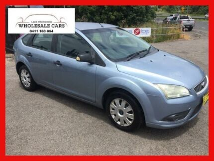 2007 Ford Focus LT CL Blue 5 Speed Manual Hatchback Jewells Lake Macquarie Area Preview