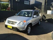 2002 Honda CR-V MY02 (4x4) Sport Silver 4 Speed Automatic Wagon Edgeworth Lake Macquarie Area Preview