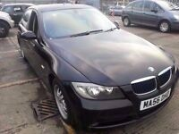 BMW 318I ES 56 REG BLACK SERVICE HISTORY 11 MONTHS MOT