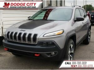 2018 Jeep Cherokee Trailhawk L Plus 4x4 | Leather, Bup Cam, BToo