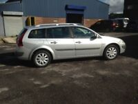 2008 RENAULT MEGANE ESTATE DCI DIESEL - ONE PREVIOUS OWNER, TIMING BELT REPLACED RECENTLY