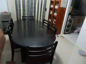 Dining Table with Chairs Kingswood Penrith Area Preview