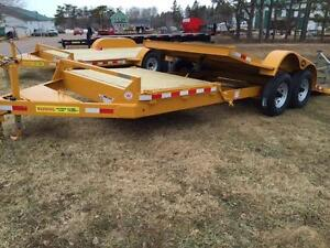 LWL heavy duity 20' tilt Deck equipment hauler