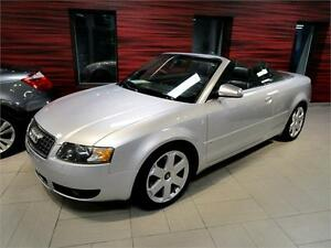 2005 AUDI S4 CONVERTIBLE, MAINTENANCE IRRÉPROCHABLE!!