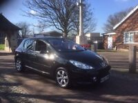 2006 Peugeot 307 diesel 1.6 hdi, starts and drives well, 9 months MOT, just had new oil and filters,