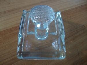 retro glass inkwell and pen stand Maleny Caloundra Area Preview