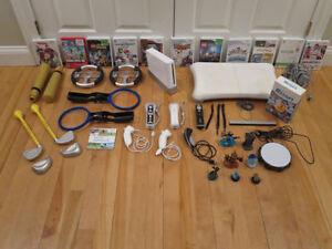 complete huge set Nintendo WII