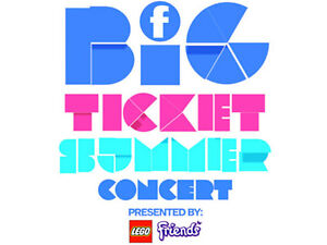 Aug 23: Family Channel's Big Ticket Summer Concert