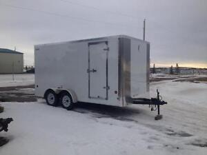 2016 - 7X14 ENCLOSED TRAILER BY ROYAL - $5575.00 **OUT THE DOOR