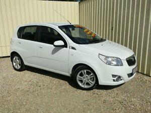 2010 Holden Barina TK MY10 White Automatic Hatchback Parramatta Park Cairns City Preview