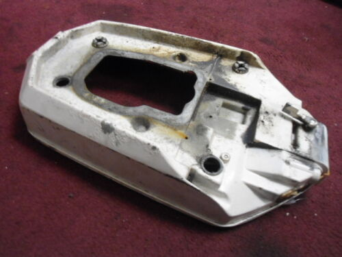 F458038-2, Support Plate, Bottom Cowling, 1981 Chrysler 30hp, 307HID