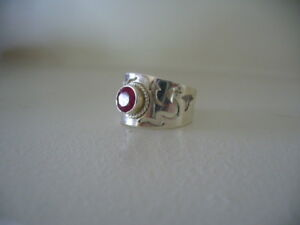 Genuine Ruby Ring, size 7