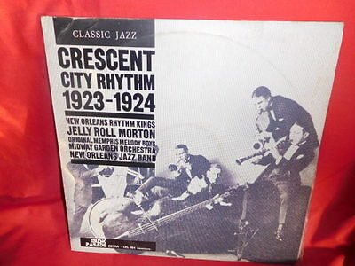 JELLY ROLL MORTON Crescent City Rhythm 1923-1924 Jazz LP ITALY 1973 MINT-