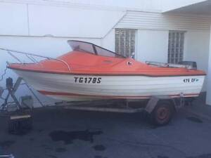 Steber 4.75m Runabout Gepps Cross Port Adelaide Area Preview