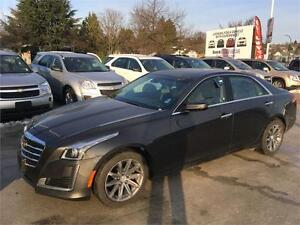 2016 Cadillac CTS Sedan Luxury Collection AWD 3.6 V6
