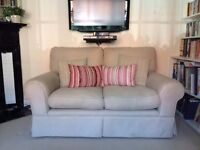Laura Ashley 2 seater sofa Kendal- hardly been sat on!