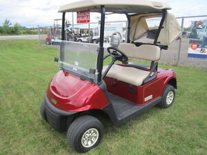 GAS GOLF CARTS-LARGE SELECTION AVAILABLE