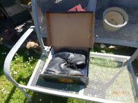 BLACK SYMPATEX SAFETY WORK OR HIKER BOOT STEEL TOE CAP SIZE 10
