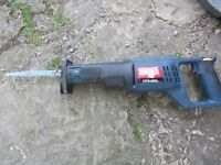 Ryobi 800W reciprocating saw ERS-80V in case