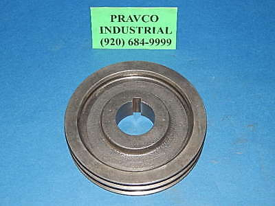 Browning 2ta64 Pulley Sheave Double Groove 6-58 6.625 Outside Diameter