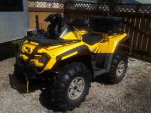 650 Can Am Outlander H.O. - Great Condition!