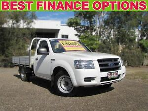 2008 Ford Ranger PJ XL White 5 Speed Manual Cab Chassis Underwood Logan Area Preview
