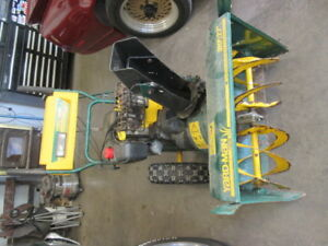 Yardman snowblower and 19hp Briggs engine